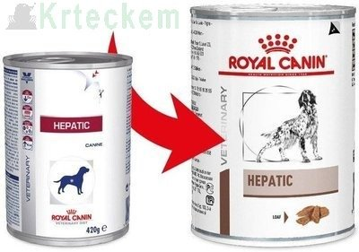 ROYAL CANIN Hepatic HF 16  12x420g konzerva