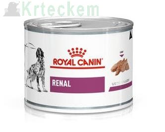 ROYAL CANIN Renal Canine 6x200g konzerva
