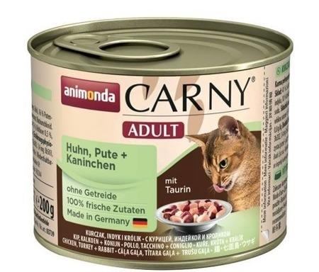 ANIMONDA Carny cat adult hovězí+kuřecí 200g