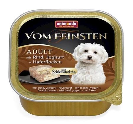 ANIMONDA Dog Vom Feinsten Adult  hovězí maso, jogurt ovesné vločky 150g