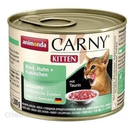 Animonda Carny Kitten kuřecí/králičí 200g