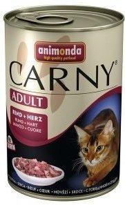 Animonda Cat Carny Adult příchuť: hovězí a srdce 400g