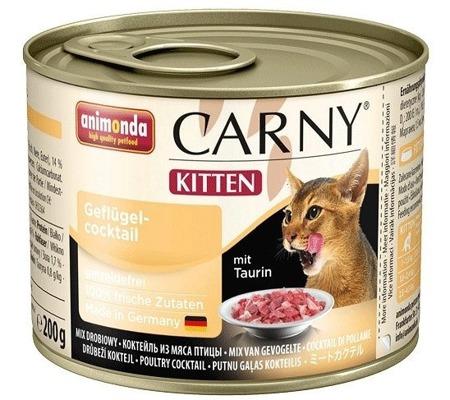 Animonda Cat Carny Kitten drůbeží koktejl 200g