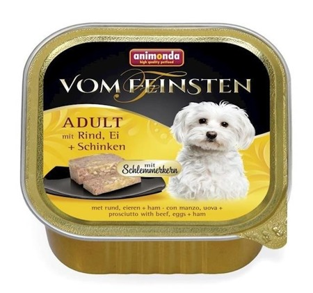 Animonda Vom Feinsten Adult Dog hovězí, vejce, šunka 150g