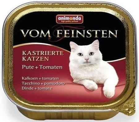 Animonda Vom Feinsten Cat Kastrované kočky krůta & rajčata 100g
