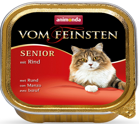 Animonda Vom Feinsten Senior Cat hovězí 100g