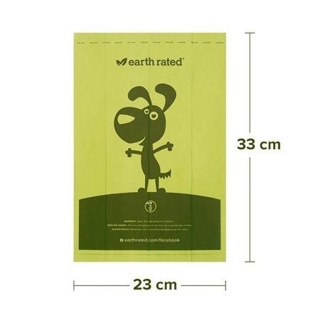 EARTH RATED Zásobník na sáčky s vůní- 15ks