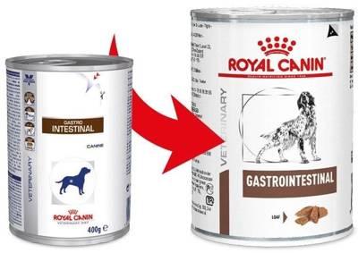 ROYAL CANIN Gastro Intestinal GI25 400g puszka PIES