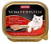 ANIMONDA Vom Feinsten Cat Adult s hovězím a kuřecím masem v bylinkách 100g