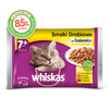 Whiskas Senior 7+ drůbeží výběr jelly 4x100g